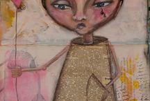 My own artworks / mixedmedia, artjournal, alteredbook