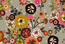 Floral telas