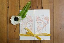 WEDDING INVITES: Rustic Barn / by Chelsea Burkholder