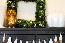 Garlands, wreaths & mobiles