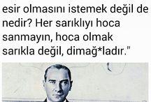 ATATÜRK'ÜMÜZ DİYOR Kİ