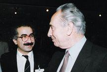 Yekta Uzunoglu - se Šimonem Peresem 1991 / kurdish people kurdistan