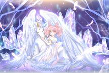 Hélios x Chibiusa (Sailor Moon)