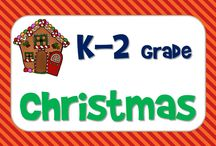 Christmas Ideas / Christmas Ideas for kindergarten to second grade