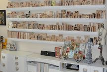 Wood Stamp Studio Organization Ideas