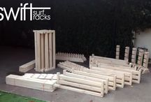 Racks that Rocks! / We develope and create racks for surf , ski, snow and skateboards!!! Made in Chile, delivering  to the world!