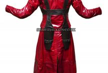 Dante Demon Slayer Devil May Cry Red Leather Costume / Dante Demon Slayer Devil May Cry Red Leather Costume is available at Slimfitjackets.co.uk at a discounted price with free shipping across UK, USA, Canada and Europe. For details, visit the site: https://goo.gl/N9OLB6