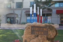Sculptures in Worthing Park - Delray Beach, FL