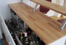 Barskur / Ideer til en hjemmebar i et 3 x 3 skur