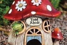 édes házacskák / ötletes kis házak ebből-abból :-)