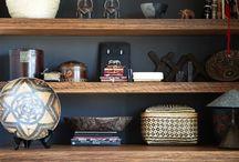 Desk/ bookcase
