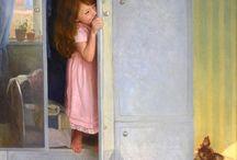 Дети / Картины художников