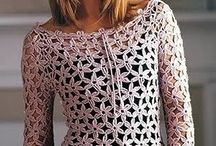 Crochet Clothing / Inspiration for my own crochet patterns