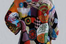 Crochet, knitting, stitch by stitch