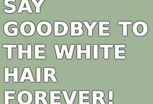 grijze haren wegwerken