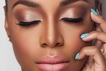 Black Skin Makeup