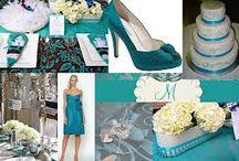 Teal colour Weddings o Verde Menta / Es un tono de verde muy hermoso;muy recomendable en Bodas primavera-verano 2013 en jardín
