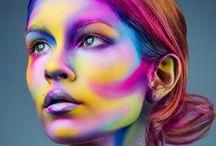 Fantasy makeup mood board