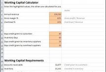 Working Capital Calculators