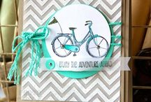 SU AC 2014-2015 / Samples made with product from Stampin' Up! 2014-2015 Ideabook &Catalogue