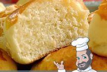 pães  É massas