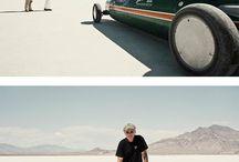 samochody coś tam pustynia