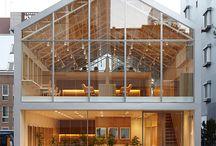 Architecture, interior, exterior