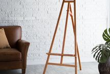 Studio Designs Wood Display Easels / These solid wood easel are beautiful displays for poster boards or art. #StudioDesigns