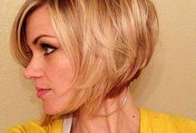 Kort hår / Korte frisyrer