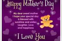 MOTHERS DAY / A day were America honors ones mothers