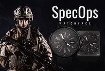 SpecOps Watch Face / It's all about secret mission!