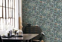 Industrial Revolution / Realistic and interesting wall coverings from a variety of collections inspired by the industrial world..