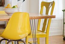 Dinning room / Salle à manger / Dinning room's decoration and furniture / Décorations, Meubles et articles pour la salle à manger