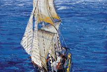 Puzzles de barcos / Puzzle donde el motivo principal son los barcos