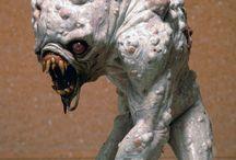 creature sculpture
