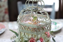 shabby chic primavera party ideas