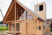 Családi ház land-art