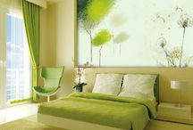 Bedroom ideas / by Jamie Rommel
