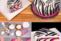 Fun cool cakes / DIY cakes delicious to look at and eat