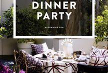 Wedding Shower: Fancy Dinner Party