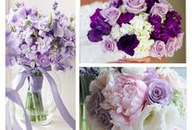 purple wedding bouquet inspiration