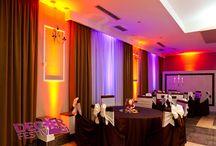 Lumini ambientale #uplighting / Iluminat ambiental pentru evenimente festive