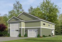 RV Garage Plans / Detached RV Garage Plans