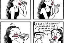 Tirinhas & Memes •