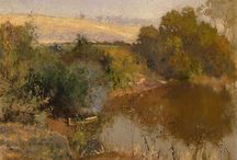 Walter Withers (In progress) / Walter Herbert Withers (22 October 1854 — 13 October 1914) was an Australian landscape artist and a member of the Heidelberg School of Australian impressionists.