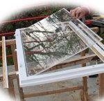 Window glass change - Üvegcsere / How to place new low-e thermo glass into windows. Hogyan cseréljük ki a régi ablaküveget low-e hőszigetelő üvegre.