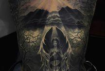 Angels & Demons tattoos