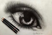 Pencil Drawing / A creation which is simply made by a pencil