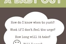Labor Tips and Tricks / Great ideas to help get you through labor, whether it's for safety, pain-coping or progress!
