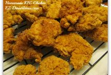 Homemade KFC Chicken / Was KFC Chicken secret recipe finally revealed?  You may never find out.  But by following to what it shows on the news article, it does taste very close.  But there is more in order to serve in dinner.  Find out how.....
